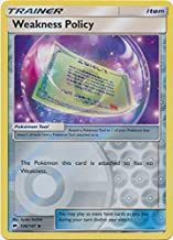 Weakness Policy - 126/147 - Uncommon - Reverse Holo - Sun & Moon: Burning Shadows