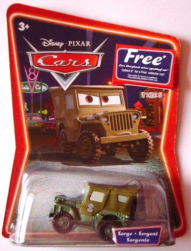Disney Pixar Cars Supercharged - Sarge