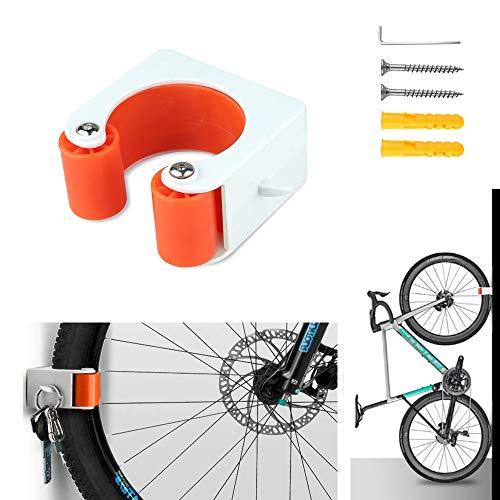 KRABICE - Soporte para bicicleta de carretera con tornillos, hebilla de aparcamiento para bicicleta, para interiores y exteriores, sistema de almacenamiento para bicicletas de carretera
