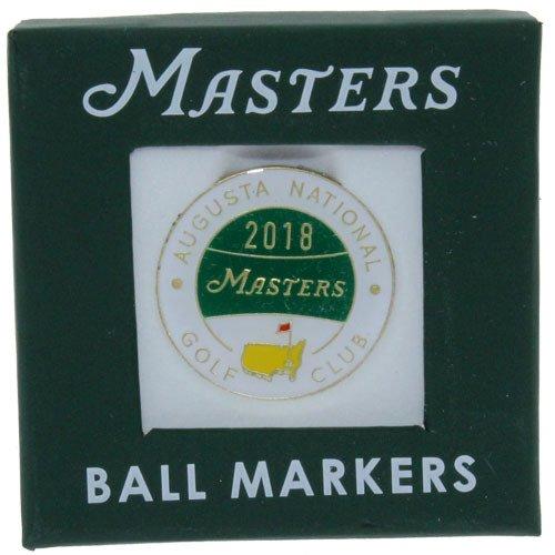 2018 Masters Golf Tournament Commemorative Ball Marker