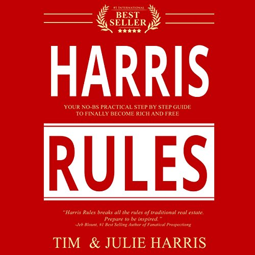 Harris Rules audiobook cover art