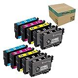 win-tinten Remanufactured Ink Cartridge Replacement for 220 XL 220XL Used for WF-2760 WF-2750 WF-2630 WF-2650 WF-2660 XP-320 XP-420 XP-424 Printer, 10-Pack (4 Black, 2 Cyan, 2 Yellow, 2 Magenta)