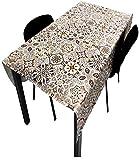 Hule   Mantel Mesa Antimanchas   Mantel Mesa Comedor y Mesa Cocina PVC Impermeable, para Interior y...
