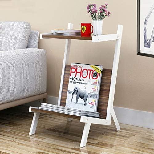 Bücherregal Blaume Stand Dekor Display Rack, Utility Storage Organizer Regal, Metall Massivholz pÃlegeleicht, für Schlafzimmer Wohnzimmer Studie (4 Styles)
