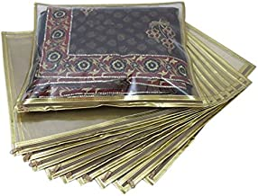 Ruhi's Creations Fabric Golden Cloth Cover(Pack Of 10)