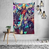 DanaEPeterson Hollywood Undead Tapestry Mural Wall Hanging Home Mural Decor Blanket Art Decor for Living Room Bedroom 60 X40 Inch