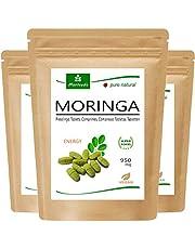 MoriVeda®   360 Moringa Energy-tabletten 950 mg of Moringa-capsules 600 mg - Oleifera, veganistisch, kwaliteitsproduct (verschillende variëteiten)