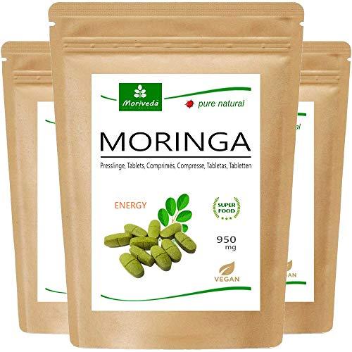 MoriVeda® - Moringa Energy Tabs 950mg...