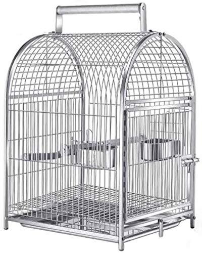 GJNVBDZSF Gabbie per pappagalli in Metallo, Gabbie per Esposizione di balconi per Negozi di Animali...