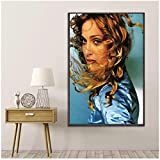 Madonna Ray of Light Music Star Affiche de la Musique Peinture Murale Maison pour la décoration du Salon -50x70cmx1pcs -Pas de Cadre