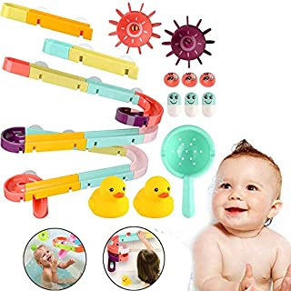 Bath Toys for Toddlers Bathtub Toys with Waterfall Station and Ball Track Fun Shower Gift for Toddlers Kids Children over ...