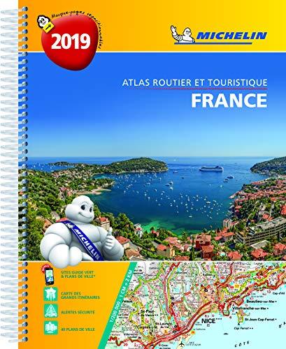 Atlas Routier et Touristique France Spirale Michelin 2019