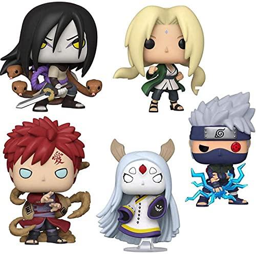 5 Piezas Anime Naruto Kaguya Otsutsuki 179 Orochimaru 729 Gaara 728 Kabuto Yakushi 936 Figura Pop...