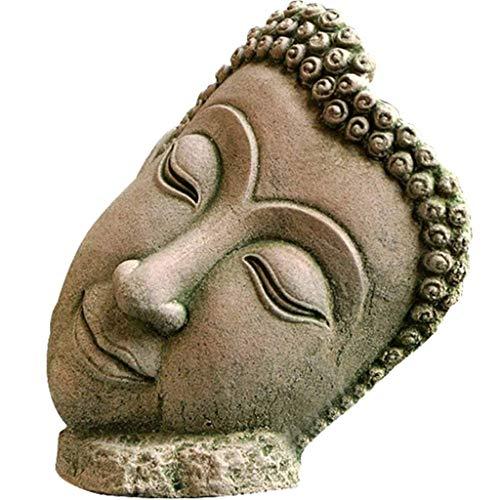 CALSD Destacados Artesanías Escultura de Arena Casa Zen Estatua de Buda Decoración Jardín Paisaje Accesorios for el hogar Estatua de Resina
