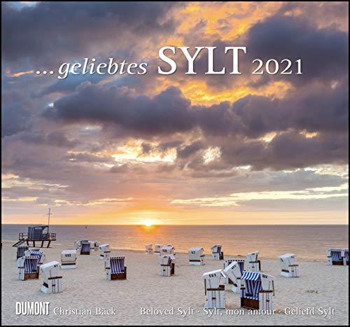 ... geliebtes Sylt 2021 - DUMONT Wandkalender - mit den wichtigsten Feiertagen - Format 38,0 x 35,5 cm