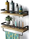 AMADA HOMEFURNISHING Floating Shelves Wall Mounted for Bathroom, Kitchen, Bedroom, Storage Shelf...