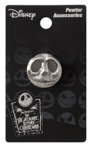 Nightmare Before Christmas Jack Pewter Lapel Pin