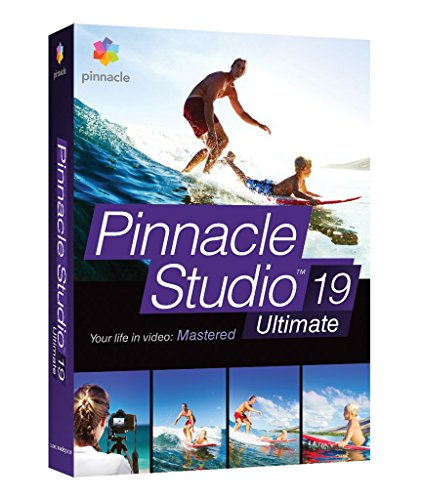 Corel Pinnacle Studio 19 Ultimate - Software de video (PC, Athlon X2, Core i3, Completo, Windows 10, Windows 8.x, Windows 7, DVD, Plurilingüe)