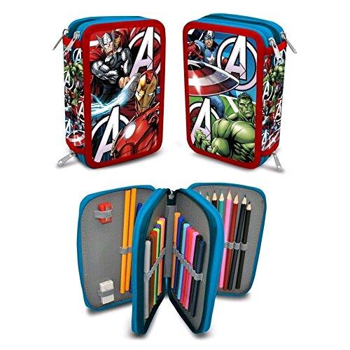 Marvel Avenger Astuccio 43pezzi 3 livelli Astuccio pieno (2)