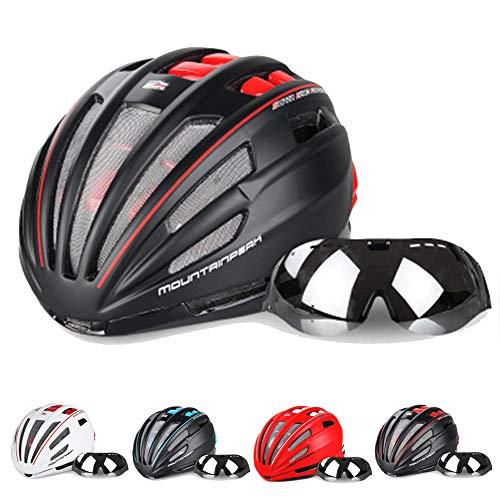 KuaiKeSport Casco Patinete Electrico Adulto,Casco Bicicleta con Visera CE,Ajustable Deporte para Hombres...
