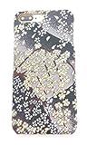 京都西陣織アイフォンケース8Plus (さくら‐GN) 着物アイフォンケース Kimono iphone8 case さくら 和柄アイフォンケース