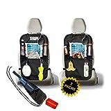 Coprisedile Universale Auto 2 Pack Novità 2020 Proteggi Sedili Auto Bambini Porta Tablet Auto Accessori Auto Coprisedili Porta Oggetti per Auto Portaoggetti Auto