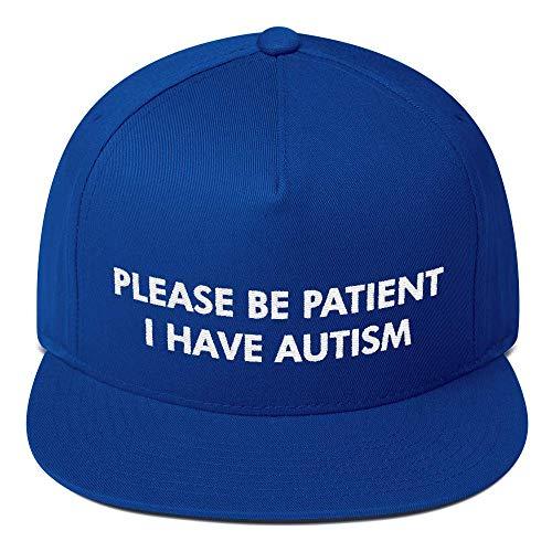 Please Be Patient I Have Autism Hat - Blue