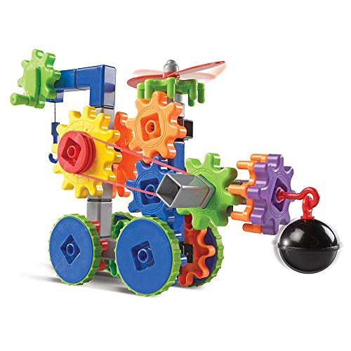 Learning Resources Gears! Gears! Gears! Machines in Motion, STEM, Gear Toy, 116 Pieces, Ages 4+ JungleDealsBlog.com