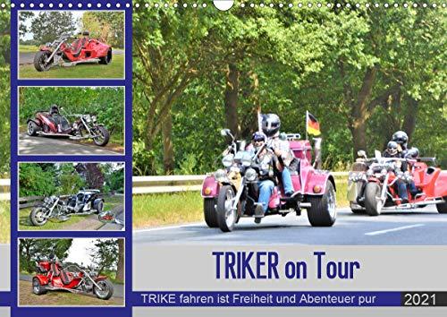 TRIKER on Tour (Wandkalender 2021 DIN A3 quer)