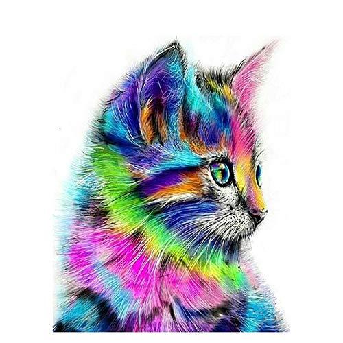 Diy pintura digital al óleo por kits de Bumbers pintura acrílica abstracta animal por números para decoración del hogar A6 40x50cm