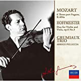 Mozart: 6 Three-Part Fugues / Hoffmeister: Duo For Violin And Viola(Limited)