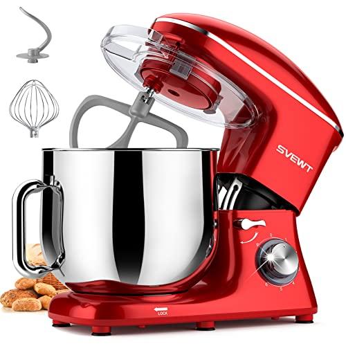 SVEWT Küchenmaschine Knetmaschine, 6...