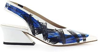 Luxury Fashion | Ettore Lami Women EL29007 Blue Leather Heels | Autumn-winter 19