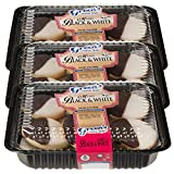 Green's Bakery Hand-Dipped Kosher Mini Black & White Cookies, 3 Pack