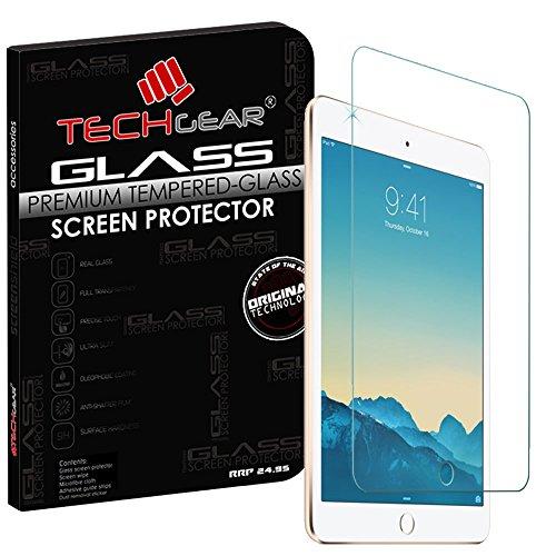 TECHGEAR Panzerglas für iPad Mini 3, Mini 2 und Mini - Panzerglasfolie Anti-Kratzer Schutzabdeckung kompatibel mit iPad Mini 3, Mini 2 und Mini