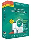 SOFTWARE KASPERSKY 2019 INTERNET SECURITY 10 LIC (5 pc + 5 movil)