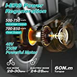 Zoom IMG-1 engwe bicicletta elettrica pieghevole 750w