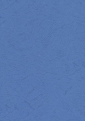 Pavo Einbanddeckel-Lederoptik DIN A4, 250 g/m², 100-er Pack, blau