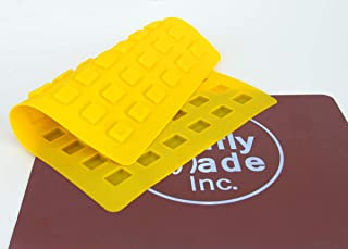 Truffly Made Mini Square Mold - Rectangle Caramel Candy Silicone Mold for Chocolate Truffles, Jellies, Candy and Edibles