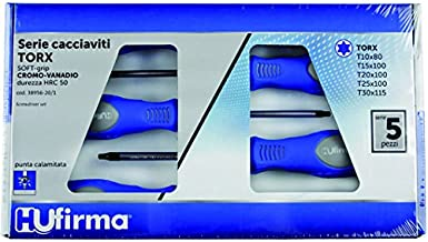 hufirma 3895620 skruvmejsel torx, ljusblå, 5-pack