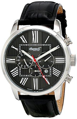 Ingersoll Men's IN1409BK Painted Analog Display Automatic Self Wind Black Watch