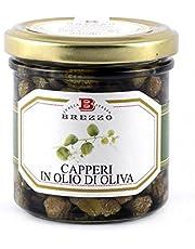 Brezzo - Alcaparras sicilianas con aceite de oliva 140 gr