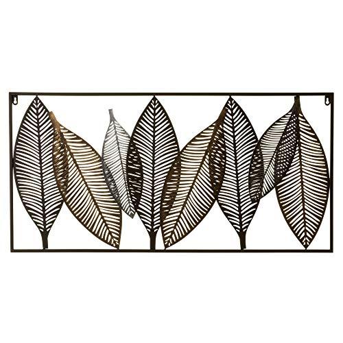 Decoración Pared Metal Hojas decoración pared metal  Marca Lola Home