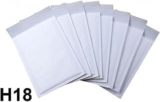 10 x Sobres Acolchados Hechos Por Net4Client - Bolsas De Burbujas Bolsas Blancas Postales Expedidores De Burbujas Embalaje Rápido & Fácil H18 Tamaño 290x370mm