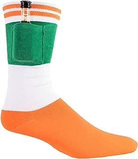 Men's St. Patrick's Day Socks - Funny Green St. Paddy's Socks for Men