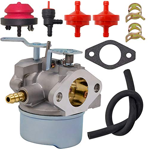 640052 Carburetor for Tecumseh 640054 640349 640058 640058A Carburetor, HMSK80 HMSK90 8hp 9hp 10hp LH318SA LH358SA Snow Blower Generator Chipper Shredder Oregon 50-659 STENS 520-926 640052 Carburetor