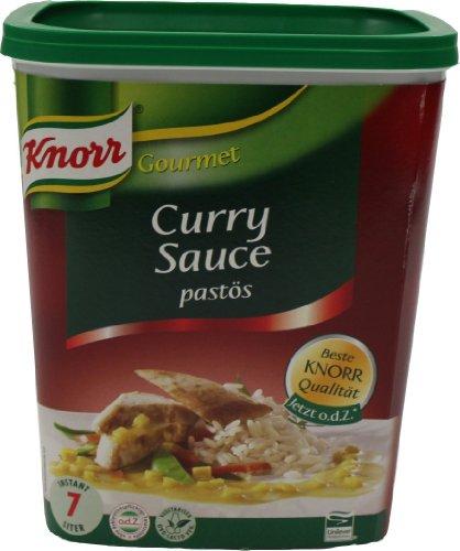 Knorr Curry Sauce pastös 1.1 kg, 1er Pack (1 x 1.1 kg)