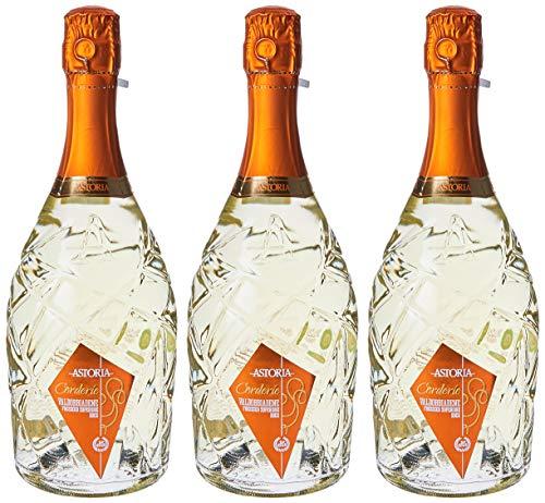 "Astoria Valdobbiadene Prosecco Docg""Corderie""Spumante - 3 bottiglie da 750 ml"