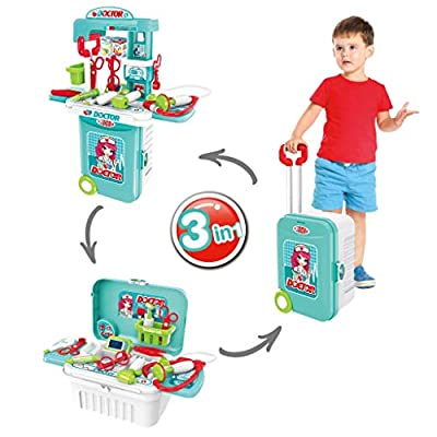 Amazon - Save 80%: winwintom Kids Doctor Kit Toy – 3 in 1 Pretend Small Play-Doctor Kit for Kids w…