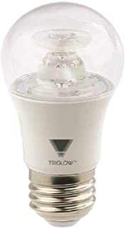 Triglow T90261 7-Watt (40W Equivalent) Dimmable LED A15 Appliance Bulb, 3000K (Soft White), 450 Lumen, E26 Medium Base, ETL Listed
